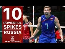 Russia in World League 2017 (Best Spikes)