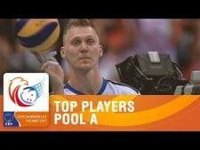 Best players in EuroVolley (Group A)