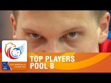 Best players in EuroVolley 2017 (Group B)