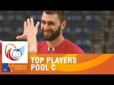 Best players in EuroVolley 2017 (Group C)