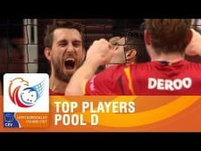 Best players in EuroVolley 2017 (Group D)