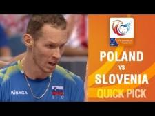 Tine Urnaut surprise attack (Poland - Slovenia)