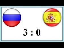 Russia - Spain (Highlights)