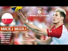 Maciej Muzaj in World League 2017