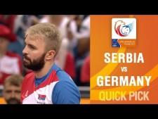 Uroš Kovačević amazing spike (Serbia - Germany)