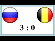 Russia - Belgium (Highlights, 2nd movie)