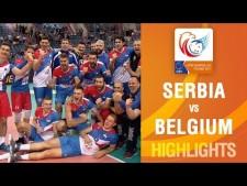 Serbia - Belgium (Highlights)