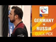 Georg Grozer amazing spike (Germany - Russia)