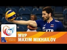 Maxim Mikhaylov in EuroVolley 2017