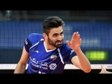 TOP 15 Best Volleyball Actions by Amir Ghafour (IRA) | World