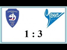Dynamo Moscow - Zenit St. Petersburg (Highlights)