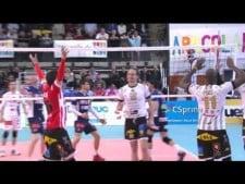 Nimir Abdel-Aziz in match Sete - Poitiers