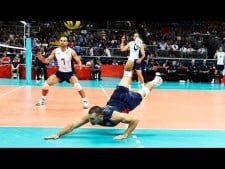 Volleyball Digs in World League 2016-2017 (2nd movie)