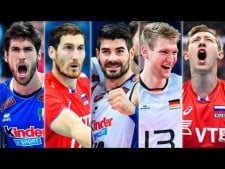 TOP40 Best Volleyball Aces in EuroVolley 2017