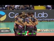 Sir Safety Perugia - Kioene Padova (Highlights)
