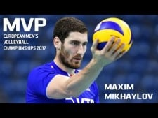 Maxim Mikhaylov in EuroVolley 2017 (2nd movie)