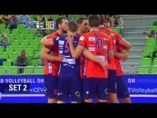 ACH Volley Ljubljana - OK Mladost Brčko (Highlights)