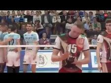 Alexey Spiridonov serve fail (Krasnoyarsk - Kazan)