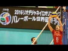 Compilation of Benjamin Toniutti tips in World League 2017