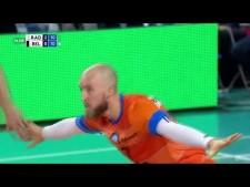 Dustin Watten in match Czarni Radom - Skra Bełchatów