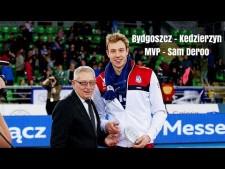 Sam Deroo in match Łuczniczka Bydgoszcz - Kędzierzyn-Koźle