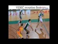 Milos Vemic in season 2016/17