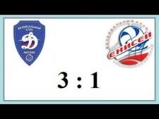 Dynamo Moscow - Enisey Krasnoyarsk (Highlights)