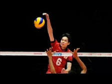 TOP 10 Best Volleyball Spikes by AKIHIRO YAMAUCHI (山内明宏)