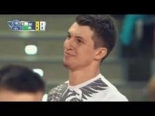 Maciej Muzaj serve fail