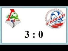 Lokomotiv Novosibirsk - Enisey Krasnoyarsk (Highlights)
