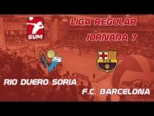 Río Duero - FC Barcelona (full match)