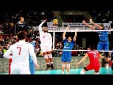 Earvin N'Gapeth 180° attacks (2nd movie)