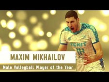 Maxim Mikhaylov - Volleyball Player of the Year