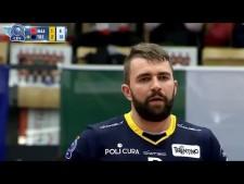 Uroš Kovačević technical spike (Maaseik - Trentino)