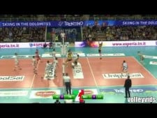 Tine Urnaut set like Ngapeth (Modena - Trentino)