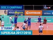 Sesc/Rio de Janeiro - Renata/Campinas (full match)