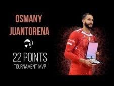 Osmany Juantorena in match Macerata - Kazan