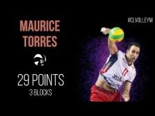 Maurice Torres in match Kędzierzyn-Koźle - Trentino Volley