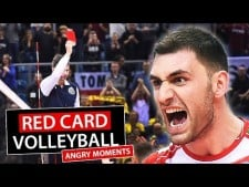 Red Cards in Volleyball
