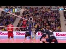Ivan Zaytsev huge single block