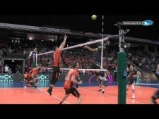 Long rally (Berlin Volleys - Spacer's de Toulouse)