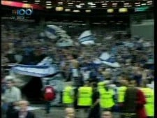 Iraklis Thessaloniki fans in Prague 2009 (2nd movie)