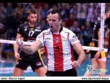 Georg Grozer in match Resovia Rzeszów - Skra Bełchatów