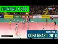 Sada Cruzeiro Volei - Sesc/Rio de Janeiro (full match)