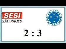 Sesi São Paulo - Sada Cruzeiro Volei (Highlights)