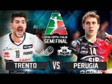 Trentino Volley - Sir Safety Perugia (Highlights)