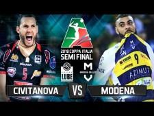 Lube Banca Macerata - Modena Volley (Highlights)