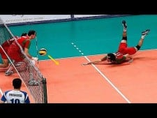 TOP10 Lucky Volleyball Aces
