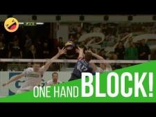 Gabriele Nelli one-hand block