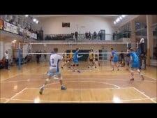 Kajetan Kulik in match Huragan Wołomin - MOS Wola Warsaw